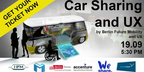 Car Sharing and User Experience with SHARE NOW & ACCENTURE & WESHARE tickets
