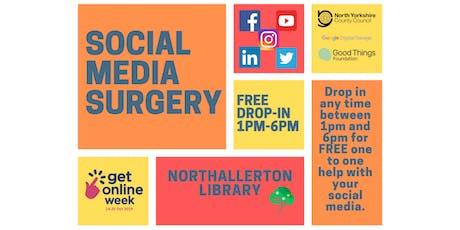 Social media surgery tickets