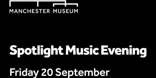 Spotlight- music event at the museum