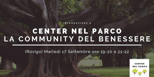 CENTER NEL PARCO - La Community del Benessere