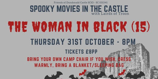 Spooky Movies in the Castle - The Woman in Black (15)
