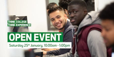 Waltham Forest College Open Event, January 2020 tickets