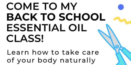 Back to School with dōTERRA Essential Oils tickets
