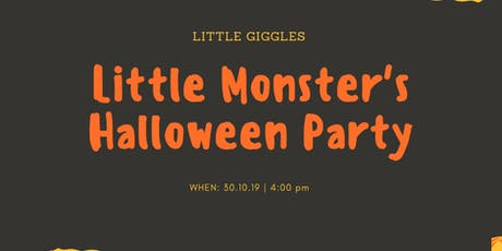 Little Monster's Halloween Party tickets