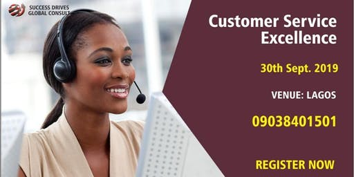 Special Lagos Customer Service Excellence Training
