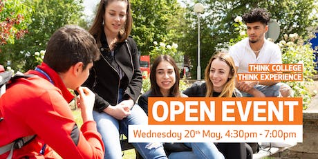 Waltham Forest College Open Event, May 2020 tickets