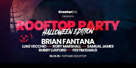 Rooftop Party – Halloween Edition. tickets