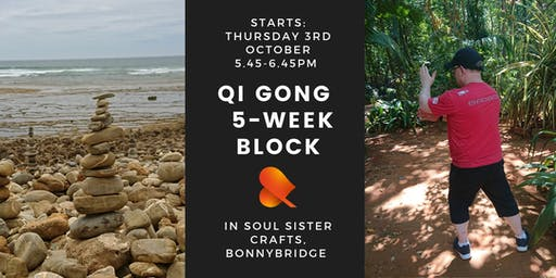 Qi Gong - 5-Week Block - Individual Sessions - Bonnybridge