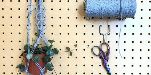 Macrame Plant Hanger - WorkShop