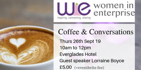 Women in Enterprise Coffee & Conversations - Networking event tickets