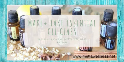 "Essential Oil ""Make & Take"""