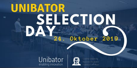 Unibator Selection Day Tickets