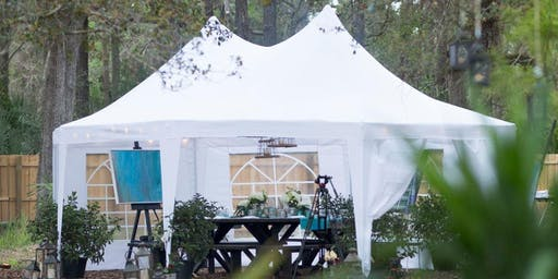 Art in the Garden/ an intimate dining experience