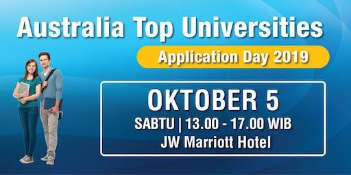 Australia Top Universities - Application Day 2019