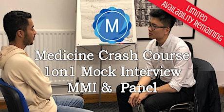 1on1 Medical School Interview Mock Practice - MMI & Panel tickets
