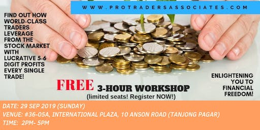Knowledge to Ultimate Wealth: Trading to Beat the Stock Market in a BULL or BEAR market! (Tanjong Pagar, Singapore)