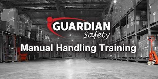 Manual Handling Training - Wednesday 18th September 9.30am
