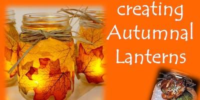 Craft Night - Create sparkling autumn lanterns