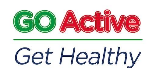 GO Active Get Healthy Diabetes Event, Kidlington - 02/10/2019