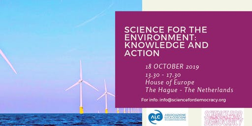 Science for the environment: knowledge and action