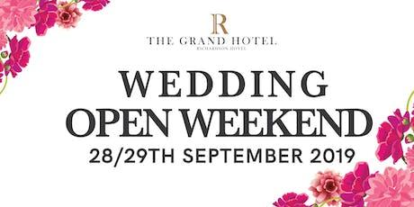 Wedding Open Weekend tickets