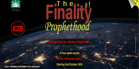 The finality of Prophethood tickets