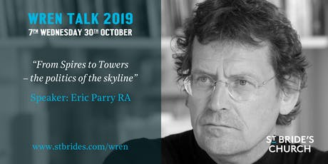Wren Talk 2019: Eric Parry RA tickets