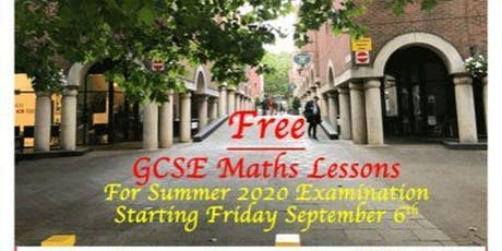 GCSE Maths Workshops tickets
