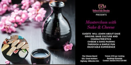 Masterclass with Sake and Cheese  tickets