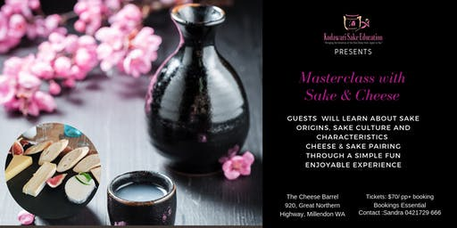 Masterclass with Sake and Cheese