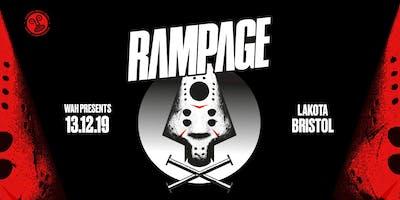 WAH x Wide Eyes: Rampage UK Tour | Bristol