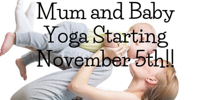 Mum and Baby Yoga Course