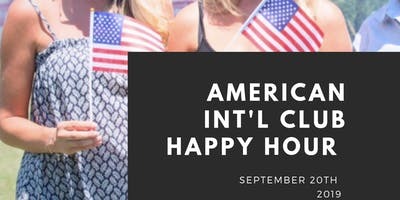 American Club Happy Hour September