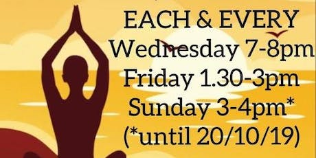 Afrikan Yoga with CC tickets