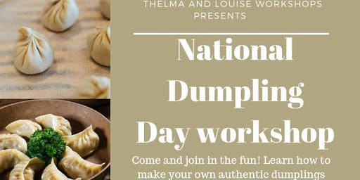 National dumpling day workshop