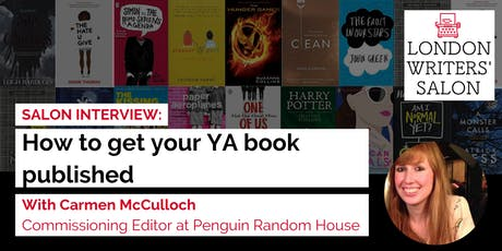 How to Get Your YA book published. An ask-all interview with Editor Carmen McCullough  tickets