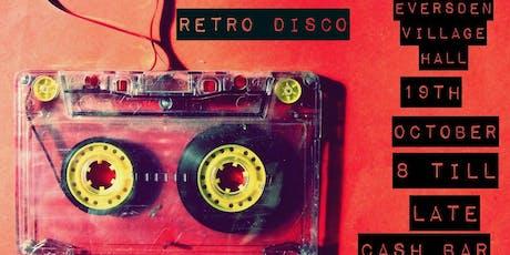 Retro Disco 19 October 8pm till late tickets