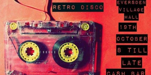 Retro Disco 19 October 8pm till late