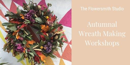 Autumnal Wreath Making Workshop