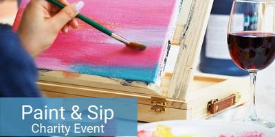 Paint & Sip for a Good Cause