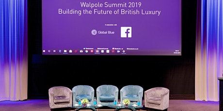 WALPOLE SUMMIT 2020: BUILDING THE FUTURE OF BRITISH LUXURY tickets