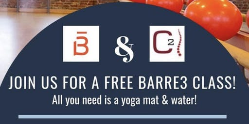 Barre3 at Chamberlain Chiropractic