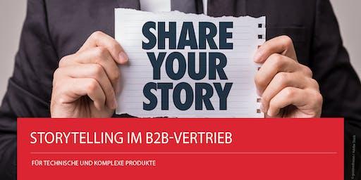 Storytelling im B2B-Vertrieb für technische und komplexe Produkte