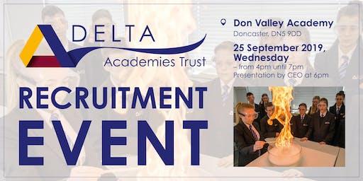 Delta Academies Trust Recruitment Event