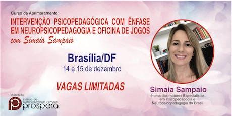 AVALIAÇÃO PSICOPEDAGÓGICA COM ENFOQUE EM NEUROPSICOPEDAGOGIA SIMAIA SAMPAIO ingressos