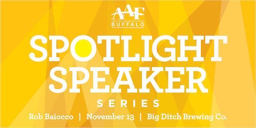 Spotlight Speaker Series: Rob Baiocco