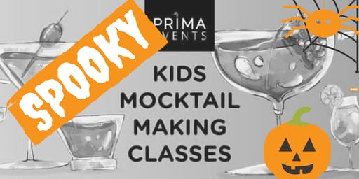 Spooky Kids Mocktail Making Class