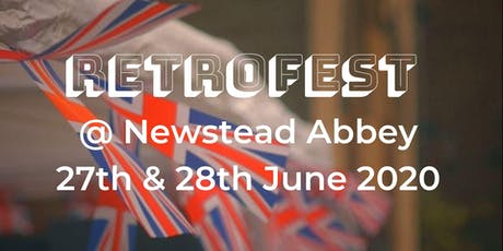 RetroFest Newstead Abbey tickets