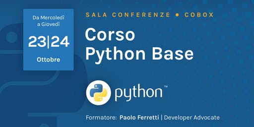 Corso Python Base