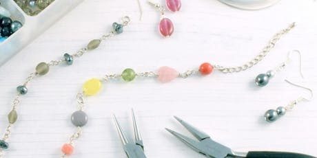 Intro to Jewellery Making - Beads & Wire  tickets